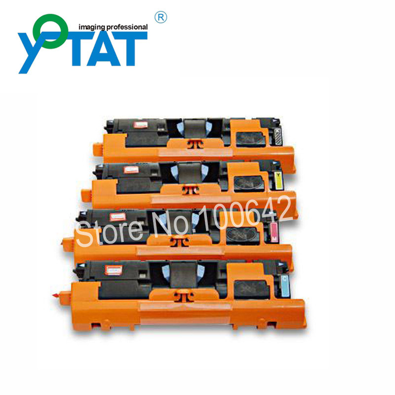 Color toner cartridge Q3960A Q3961A Q3962A Q3963A for HP Color LaserJet 1500 1550 2500 2550 2800 2820 2840 printer
