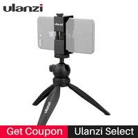 Ulanzi البسيطة الكرة رئيس ترايبود مع إزالة الهاتف لآيفون 7 زائد 6 الهاتف المحمول ل نيكون كانون gopro vlogging selfie الرماية