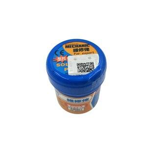 Image 2 - 5pcs/lot XG 50 Solder Paste No clean Sn63 Pb37 Flux 20 38 Microns 183 Celsius Melt Point XG50 Mechanic Solder Soldering Flux