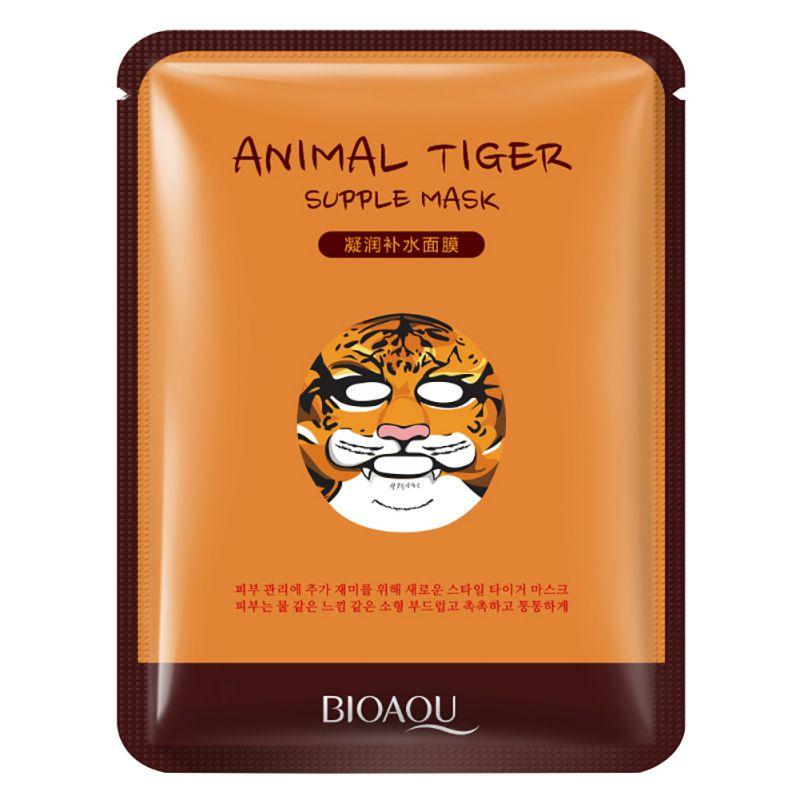 30g Nourishing South Korean Cosmetics Face Mask Care Animal Tiger Supple Mask Moisturizing Women Beauty Health