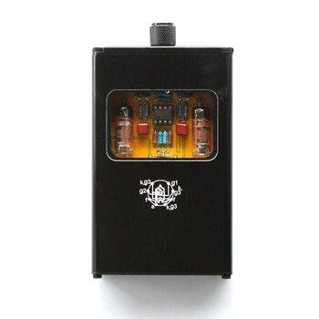 Potężny przenośny podwójny lampa elektronowa wzmacniacz słuchawkowy Mini AMP telefonu komórkowego muzyczny zestaw słuchawkowy wzmacniacz