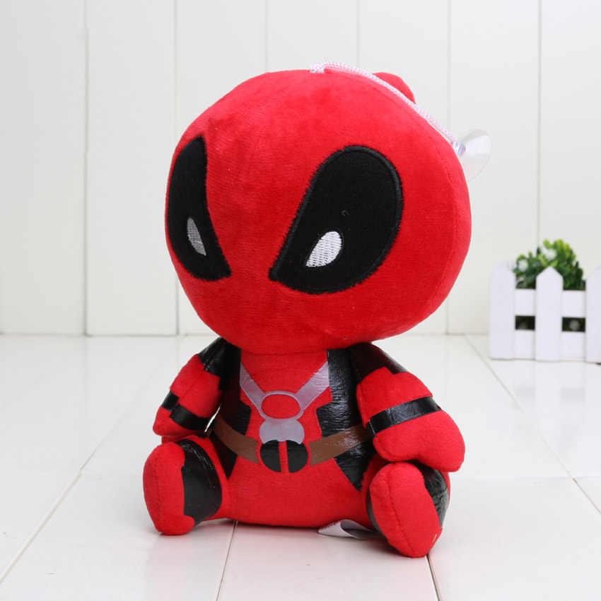 18 cm Moive Deadpool Presentes Do Bebê Brinquedos de Pelúcia Macia Brinquedos de pelúcia Bonecos de pelúcia pingente keychian