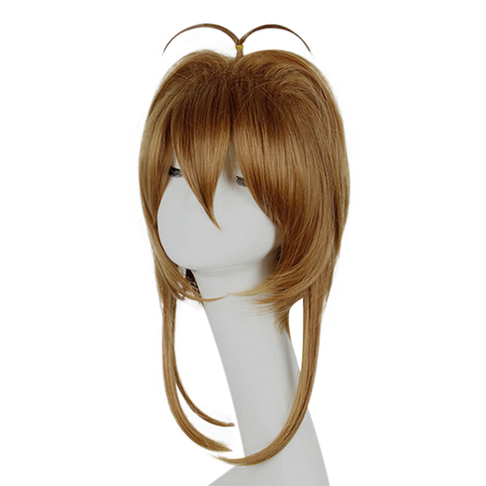 HAIRJOY Synthetic Hair Card Captor Sakura Cosplay Wig Costume Party Wigs Free Shipping 2