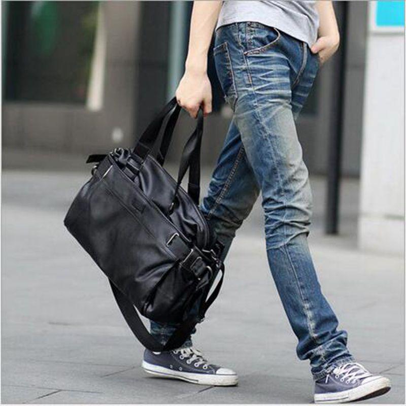 Men bag men messenger bags mens leather big size shoulder bag designer brand high quality men's travel bags high quality high quality men s shoulder bag