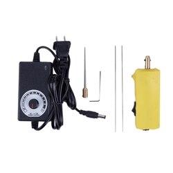 Hlzs glue urządzenie oczyszczające CJ6 + 100 240V US klej oca narzędzie do usuwania do telefonów komórkowych naprawa ekranów lcd z elektrosilnikiem (wtyczka amerykańska) w Wiertarki elektryczne od Narzędzia na