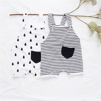 EnkeliBB 2019 Tiny Cottons New Baby Romper Summer Lovely Boys Girls White One-piece Rompers Fashion Toddler Summer Clothing