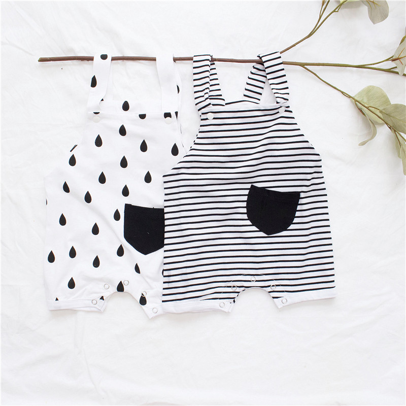 0b8688e2f ... mamelucos moda Niño ropa de verano. Cheap EnkeliBB 2019 pequeños algodón  nuevo bebé Romper verano adorables niños niñas blanco de una pieza