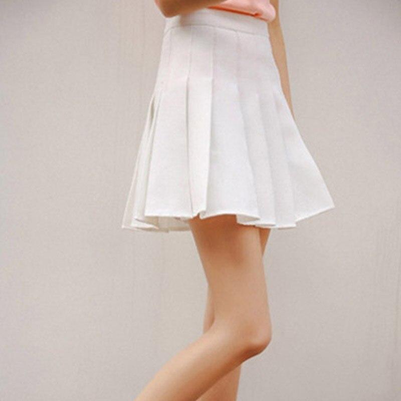 b2b8384ab208 Femmes Filles Sexy Taille Haute Plaine Patineuse Évasée Empire Plissée  Courte Mini Jupe Dames Shorts