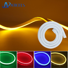 8mm LED Neon flex DC 12V Strip Light SMD 2835 120LEDs/m Waterproof Soft Rope tube Outdoor lighting decoration light