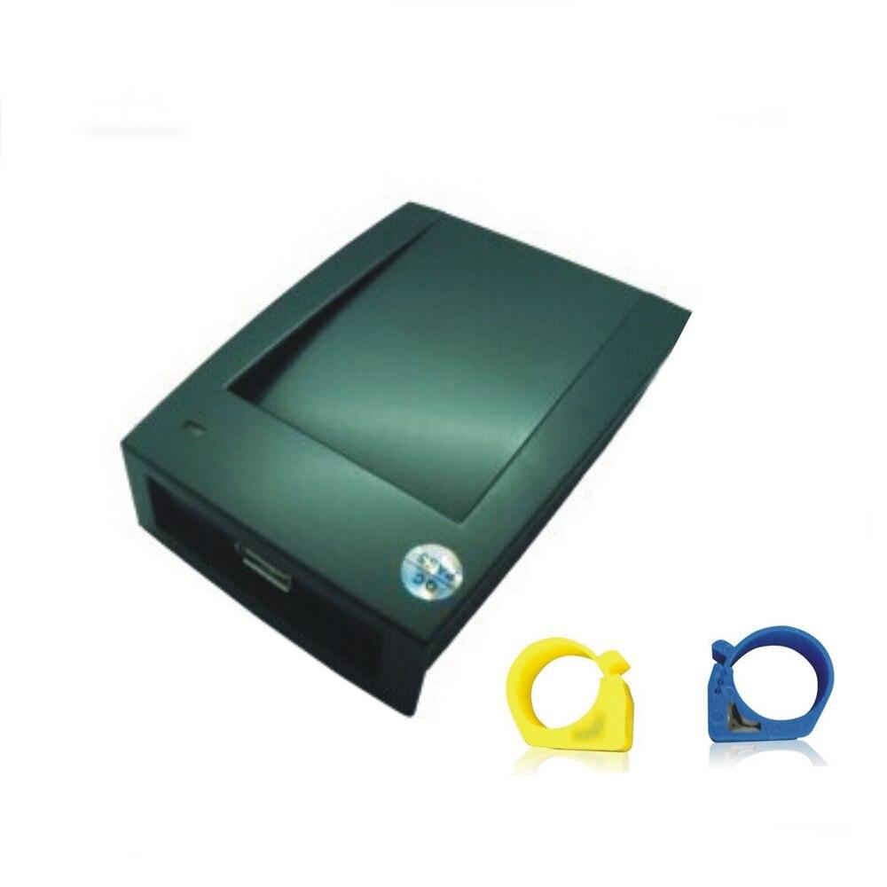 送料無料 125 134.2 Khz EM4305 ISO11785/84 Id アクセスカード読み取りライタ id カードコピー機 + 5 ピースカード  グループ上の セキュリティ & プロテクション からの コントロールカードリーダー の中 1