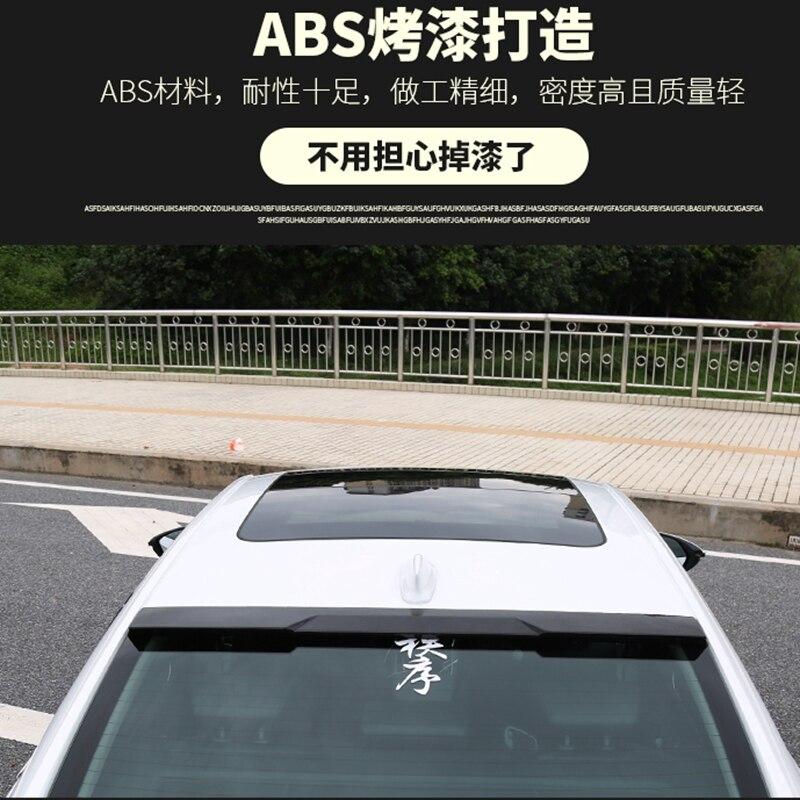 Здесь можно купить  For Honda Accord Spoiler 2018 10Th Car Tail Wing Decoration High Quality ABS Plastic Unpainted Primer Rear Trunk Spoiler  Автомобили и Мотоциклы