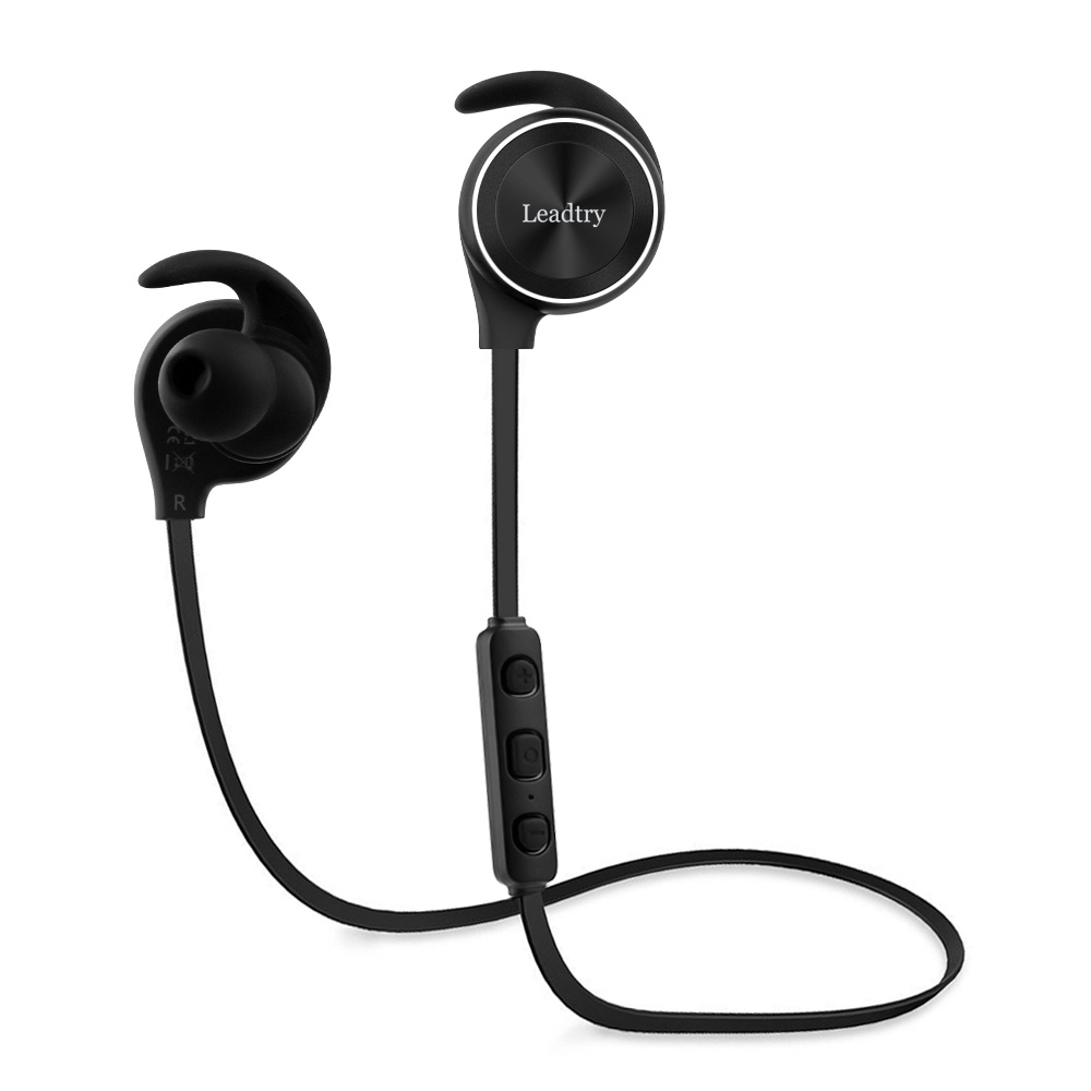 ФОТО Bluetooth Headphones Wireless Sports Bluetooth Headset Sweatproof Noise Cancelling Bass Sound Cordless Earpiece Stereo Earphone