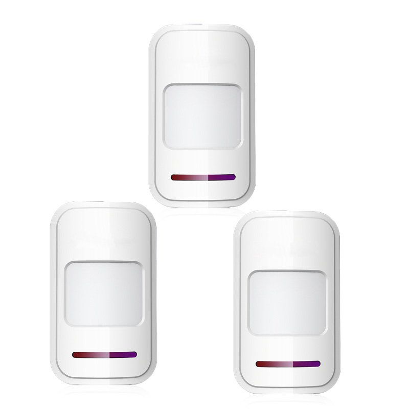 Wireless Motion PIR IR Sensor Detector Intelligent Detecting Passive Infrared Detector 433MHz For Wireless GAM PSTN Alarm System ...