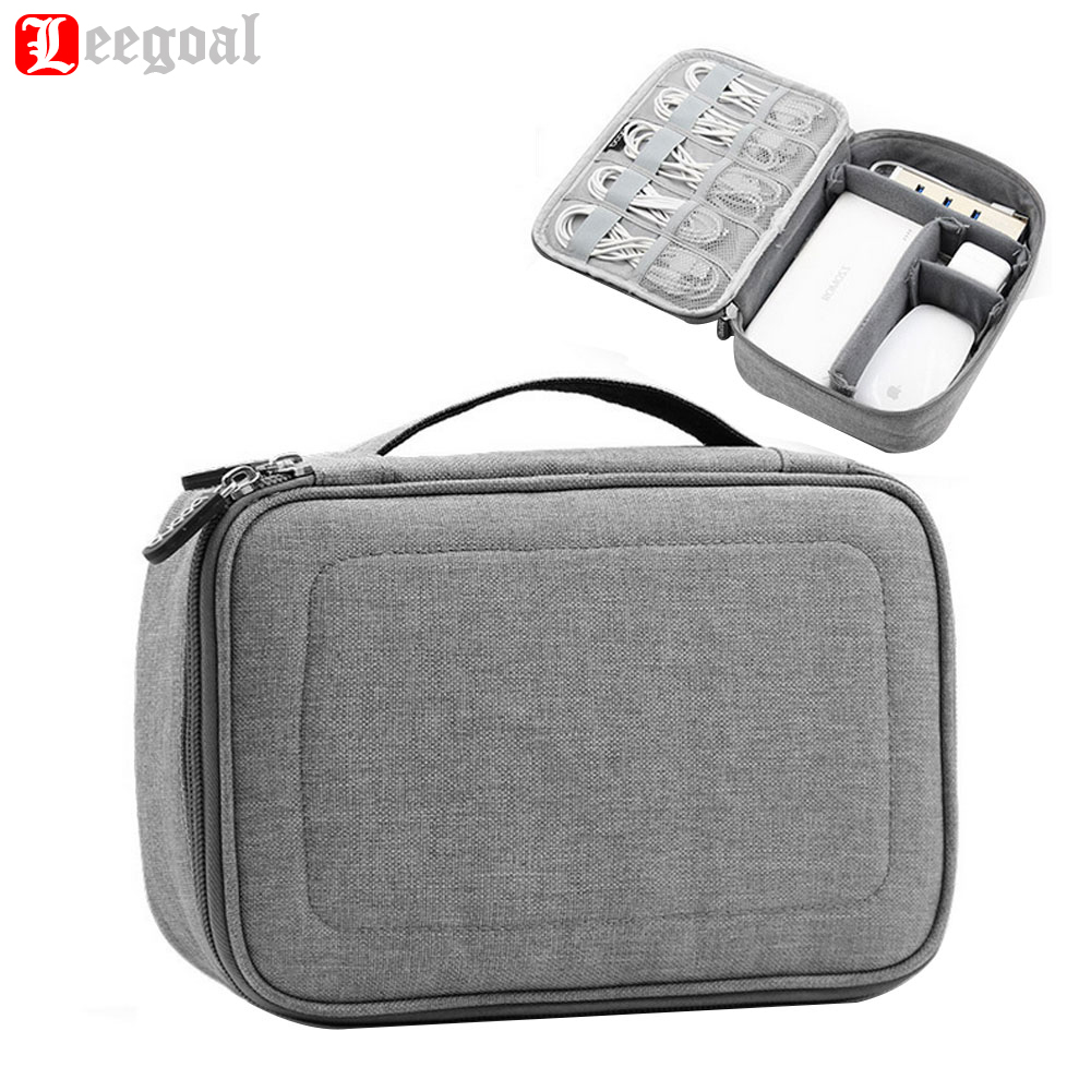 Electronics Accessories Storage Bag Travel Digital Bags Gadget Case Cable Organizer Earphone mobile power box Business packet