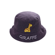 Hat Cute Fashionable Embroidery Decor Bucket Hat Kid Sun Cap Cute Cap for Beach Outdoor Travel(China)