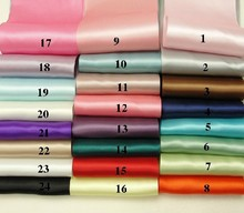 25yard long 100mm width 1 Roll double face Ribbon satin DIY craft accessories use as wedding party decor chair sash
