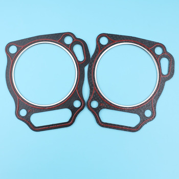 2Pc Cylinder Head Gasket Fit Honda 13HP GX 390 GX390 Chinese 188F 389CC Gasoline Small Engine Generator Water Pump 12251-ZF6-W00 image