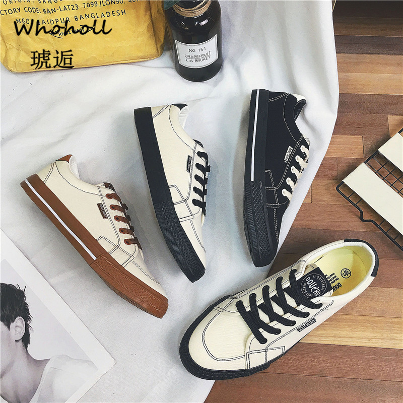 Sneakers for Men Vulcanized Shoes Simple Round Toe Casual Shoes Mens White Daily Footwear Male Big Size 39 44 Fashion Walkerpeak in Men 39 s Vulcanize Shoes from Shoes