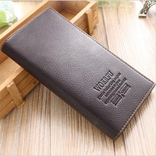 Hot sales top grade brand business men wallet famous brand wallet clutch bag purses and handbags D1052-6