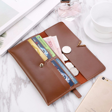Women PU Leather Long Wallets (6 colors)