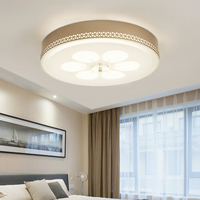 Moderne Glanz K9 Kristall Led deckenleuchten Wohnzimmer Gold Metall Dimmbare Led Decke Lampe Led Decken Leuchten Für Schlafzimmer-in Deckenleuchten aus Licht & Beleuchtung bei