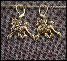 Модные стильные Мультяшные серьги из сплава в виде пуделя ювелирные