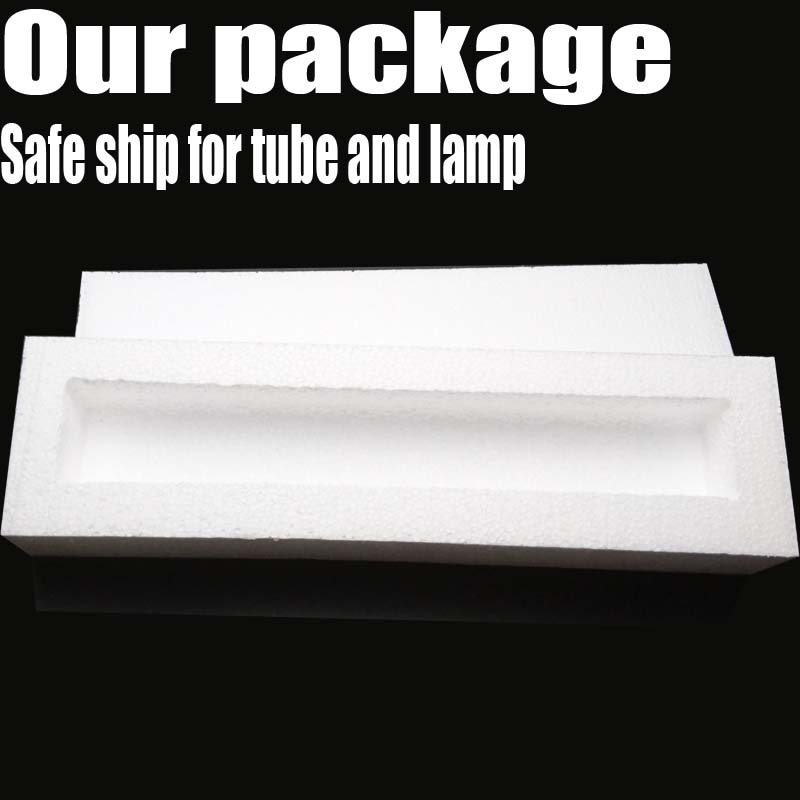 Fluorescent Light Tube Fixture include Ballast and 140cm Cord for 15w 18Inch 45.7cm G13 Double ended Fluorescent Light Tube