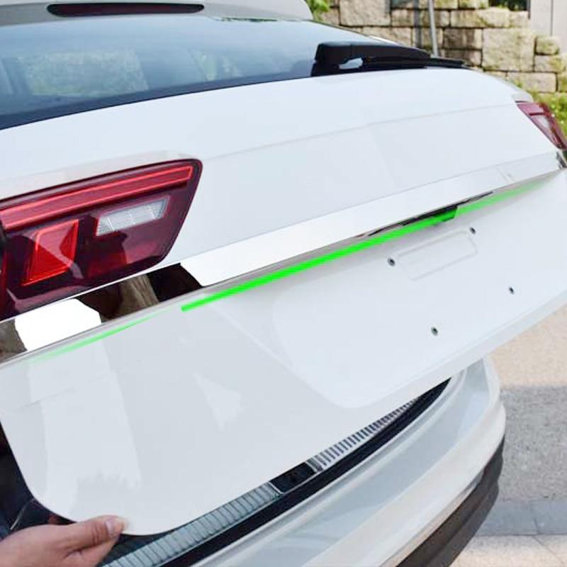 Нержавеющая сталь задний багажник багажника дверные ручки крышки хвост ворота свет лампы отделкой ободок литья гарнир Стайлинг для VW tiguan mk2