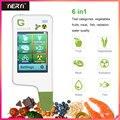 GREENTEST ECO 5F цифровой пищевой нитратный тестер Измеритель концентрации Быстрый анализатор фруктов/овощей/мяса/рыбы/тестер для пищевых продук...
