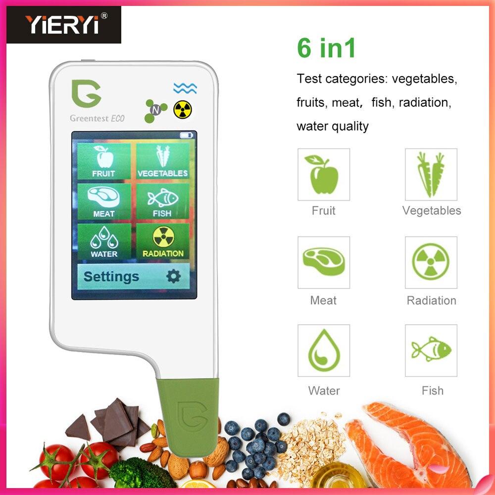 MAIS GRACIOSO ECO 5F Digital Analyzer Tester medidor De concentração De Nitrato De Comida Rápida frutas/legumes/carne/peixe/comida tester