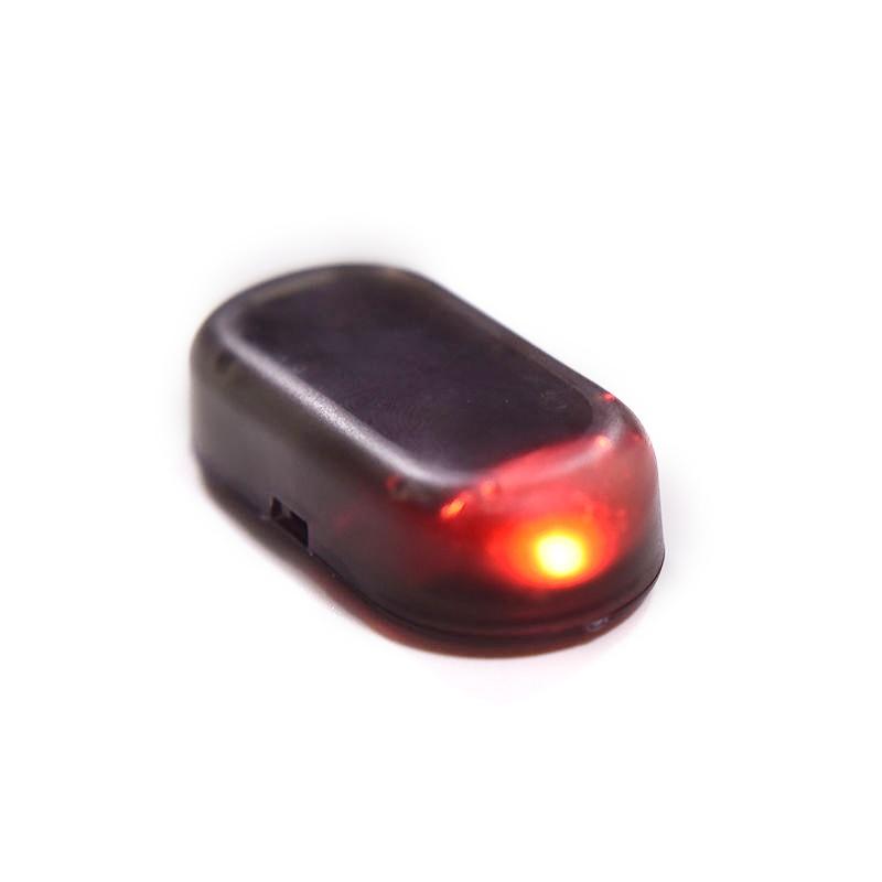 Universal 1pcs Fake Solar Car Security Alarm Led Light