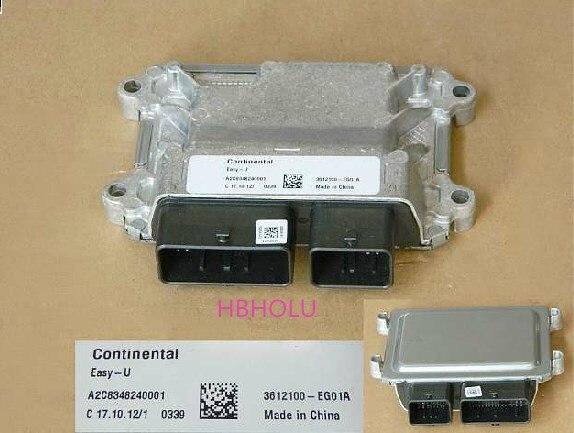 Ordentlich Motor Computer-board Ecu Montage 3612100-eg01a Für Great Wall Florid Voleexc30 HeißEr Verkauf 50-70% Rabatt