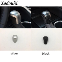For Toyota Camry XV70 2018 2019 car inner cover ABS chrome stick styling Shift knob control Top lamp frame trim 1pcs