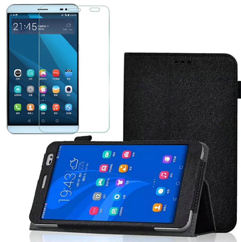 1x Screen Protector,Ultra Thin Slim Folio Stand Smart Cover Protective Magnetic Leather Case For Huawei Mediapad 7.0 Honor X2 7