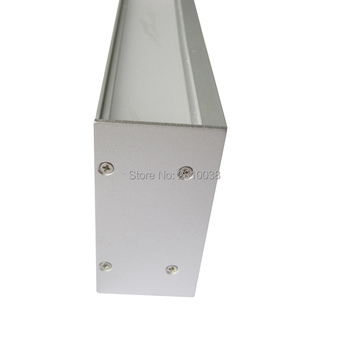 цена на 10 X 1M Sets/Lot Anodised LED aluminum I profile and Extruded Alu profil led strip with internal driver for wall lights