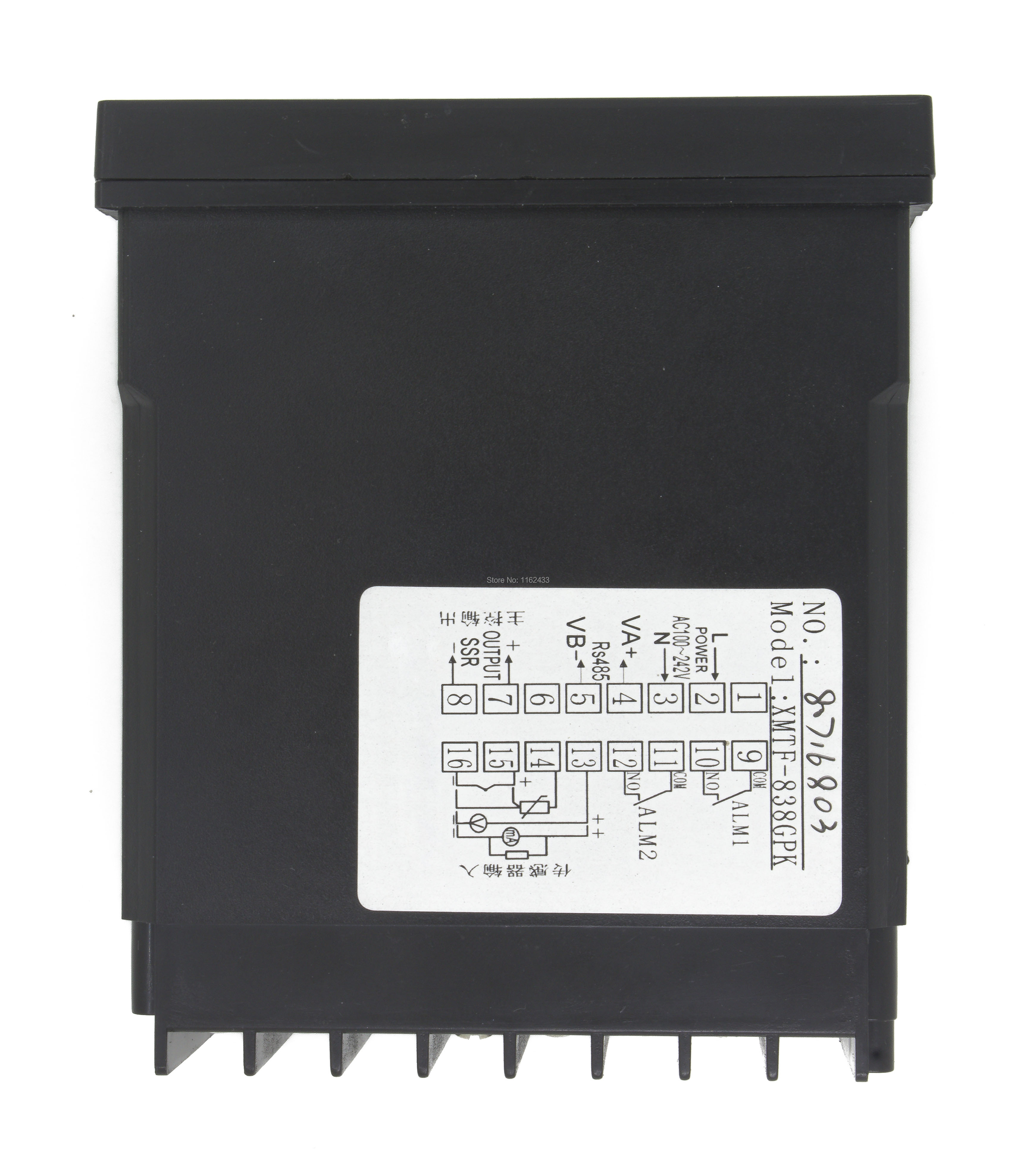 medium resolution of xmtf 8 rs485 modbus interface ramp soak digital temperature controller relay ssr 0 22ma scr output in temperature instruments from tools on aliexpress com