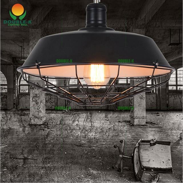 Vintage kroonluchters lamp 36 cm, 46 cm metalen hanger lampenkap ...