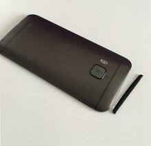 Оригинальный Для HTC One M9 сзади Батарея крышка двери Корпус шасси с логотип + Камера объектив боковые кнопки sim-карты