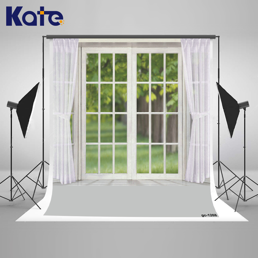 10x10FT Kate Wedding Photography Backdrops White Window And Curtain Indoor Background Cotton Backdrop Seamless Washable Children kate shabby window backdrop for photography portable cotton photographic studio props gothic indoor background 5x7ft
