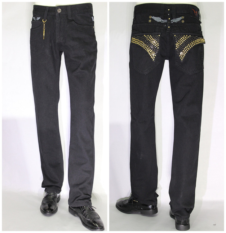 Popular Black Designer Jeans-Buy Cheap Black Designer Jeans lots