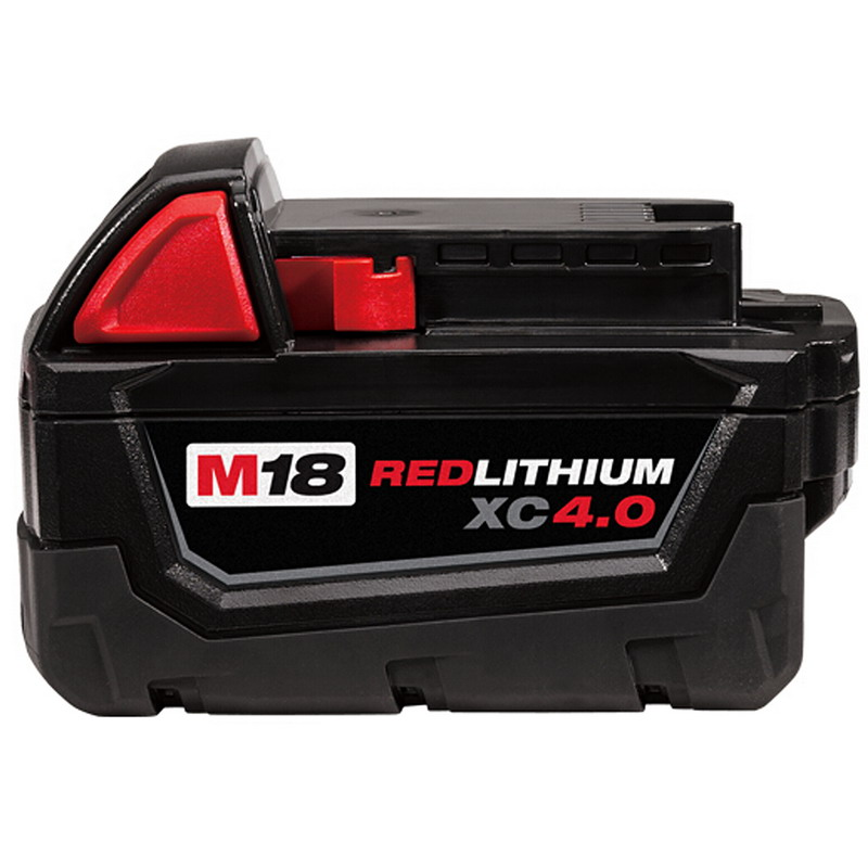 ФОТО M18 18V 4000mAh Li ion Battery for Milwaukee M18 48-11-1828 48-11-1840 18V 4A Electric Drill Lithium Ion  T15