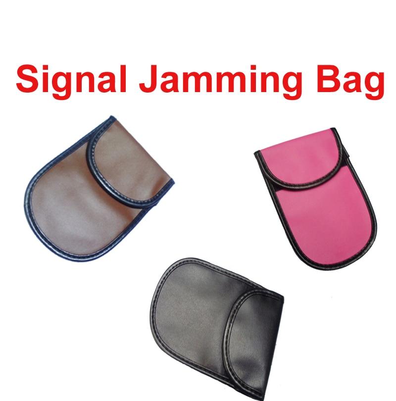 imágenes para 10 unid bolsa de pequeño tamaño para la pequeña del teléfono w/radiación de la señal jammer función de la bolsa de teléfono bolsa de bolsa le impiden las llamadas no deseadas de interferencia