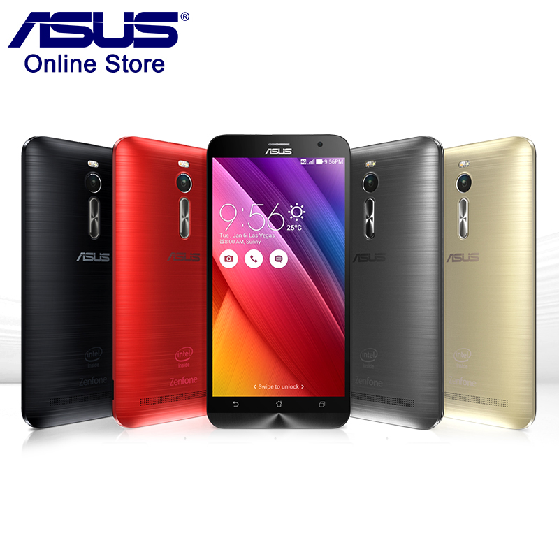 In Stock 100 Asus ZenFone 2 ZE551ML 4GB RAM 32GB ROM 5 5 Inch Smartphone Intel