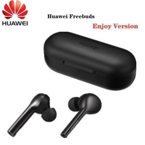 Image 1 - חדש HUAWEI Freebuds ליהנות אלחוטי Bluetooth 4.2 אוזניות עם מיקרופון מוסיקה מגע עמיד למים Handfree דינמי אופנה אוזניות