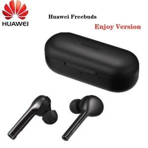 Image 1 - New HUAWEI Freebuds Enjoy Wireless Bluetooth 4.2 Earphone with Mic Music Touch Waterproof Handfree Dynamic Fashion Headset