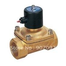 Огонь, Вода Клапан 2/2 Электромагнитный Клапан Латунный Клапан Клапан 2W500-50 DC12V DC24V AC110V или AC220V