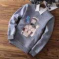 Известный бренд мужчины хип-хоп толстовки пуловеры Смешно курение человек толстовка спортивный костюм одежда sudaderas moleton masculino