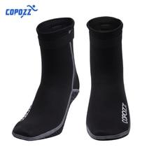 Copozz 3mm Neoprene Diving Socks Boots Water Shoes Anti Slip Beach Warm Wetsuit Shoes Snorkel Surfing Swim Socks for Men Women