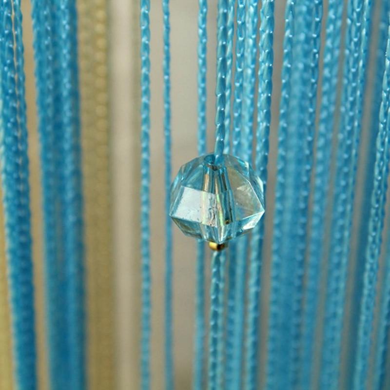 Home Curtains String Line Tassel Window Panel Room Divider Yarn String Strip Tassel Drapes for Living Room Home Hanging Decor