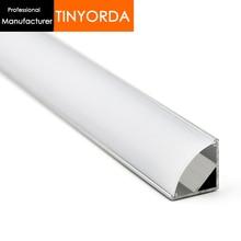 Tinyorda 100Pcs (2M Length) Led Strip Profile Led Channel Profil for 11mm LED Strip Light Professional ManufacturerTAP1616